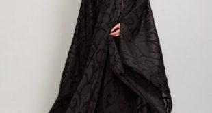 صورة تصميم عبايات خليجية , عبايات خليجي لعيد الام