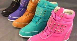 صورة احذية نسائية احذية نساء 2020 , كوتشيات بناتي شيك