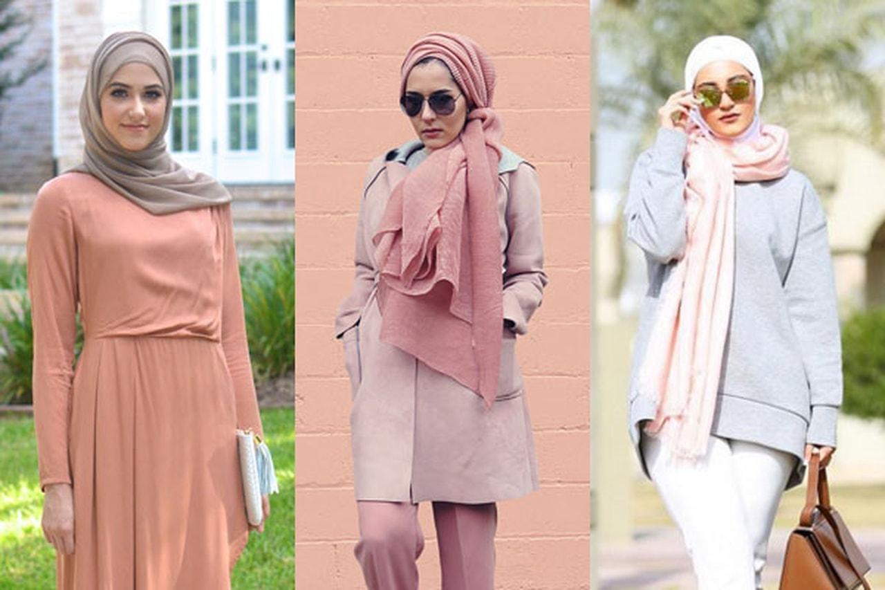 بالصور فساتين قطن طويلة للمحجبات , فساتين خروج عالموضة تناسب حجابك 5170 4