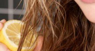 صورة خلطة لتفتيح الشعر , كيف تستخدمين الليمون لتفتيح لون شعرك
