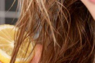 صور خلطة لتفتيح الشعر , كيف تستخدمين الليمون لتفتيح لون شعرك