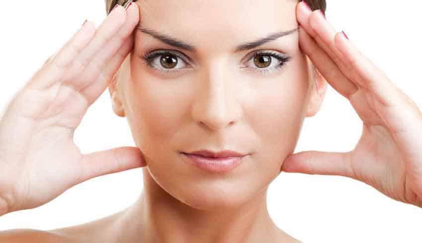 صورة تمارين لشد الوجه , كيف تحصلين علي وجه مشدود بتمارين بسيطة