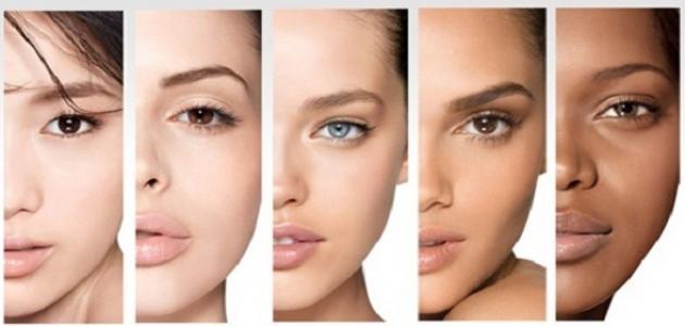صورة ما هي البشرة الدهنية , كيف تعرفين نوع بشرتك