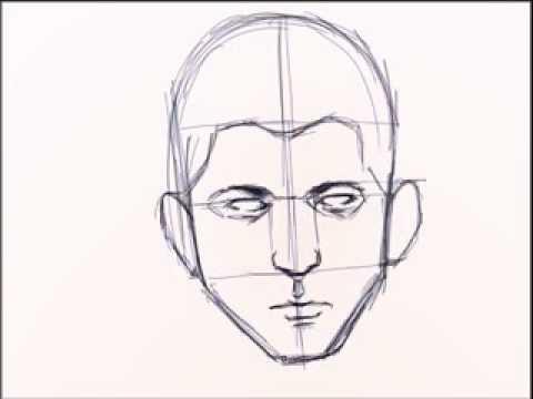 تعليم الرسم للمبتدئين كيفية رسم وجه بنت خطوة بخطوة Shahidtv