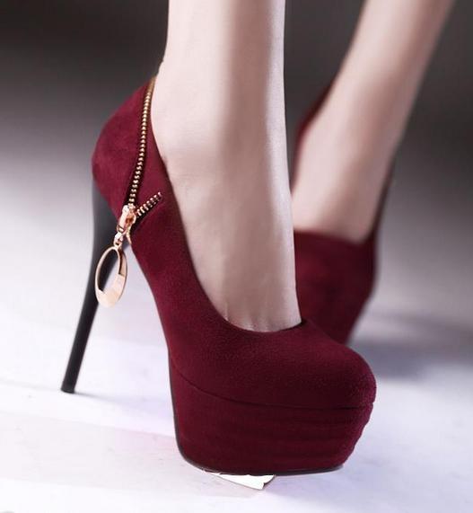 بالصور جزم كعب عالى , اشيك احذية بكعب عالي للبنات 9127 8