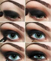 بالصور تعليم مكياج العيون بالصور , احلى ميكاج عيون 6909 8