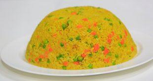 صورة ارز بسمتى بالخضار, طريقة عمل الأرز البسمتي