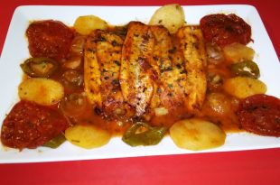 صورة سمك فيليه بالفرن، طعام يحتوي علي قيمه غذائيه عاليه من الفسفور واليود