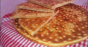 صورة انواع الخبز الجزائري, وصف كيفية اعداد خبز الدار