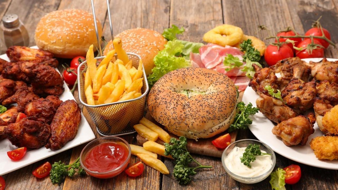 صورة الغذاء الغير صحي، اضرار الوجبات السريعة والدسمه