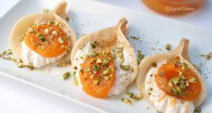 صورة قطايف بالقشطة منال العالم، حلويات رمضانيه لذيذه وشهيه