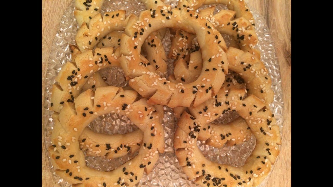 صورة الكعك المالح الليبي , طريقة صنع اشهر الحلويات الليبية