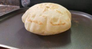 كيف يصنع الخبز, اسهل  طريقة لصنع  الخبز العربي