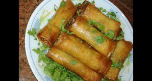 صورة سبرنغ رول بالخضار, اشهر المأكولات الصينية المنتشرة بكثرة