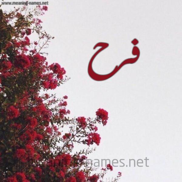 صورة صور اسم فرح، اجمل اسم بالصور اسم فرح