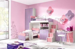 صورة ديكورات غرف بنات, تصاميم راقية ومختلفة للبنات