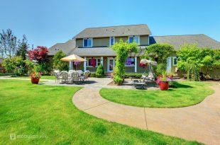 صورة ديكور حدائق منزلية، اشكال وتصاميم الحدائق المنزليه