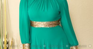 صورة فساتين سواريه للمحجبات فيس بوك, ملابس مناسبة للأفراح للمحجبات