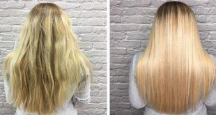 صورة اضرار الكيراتين للشعر , احمى شعرك من هذه المخاطر