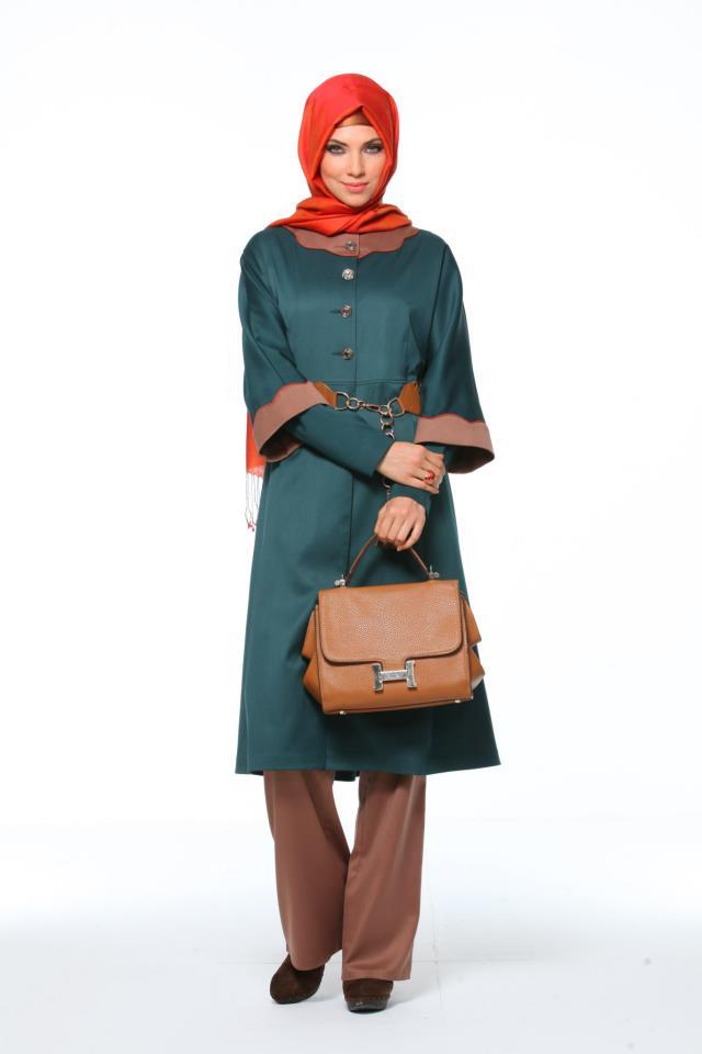 صورة ازياء بنات محجبات ازياء تركية للمحجبات, انواع ملابس البنات المحجبات