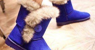 صورة احذية شتوية بدون كعب احذية شتوية للبنات , لم ارى فى روعة هذه الاحذية