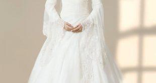 اجمل فساتين زفاف للمحجبات, حلم كل بنت في العالم