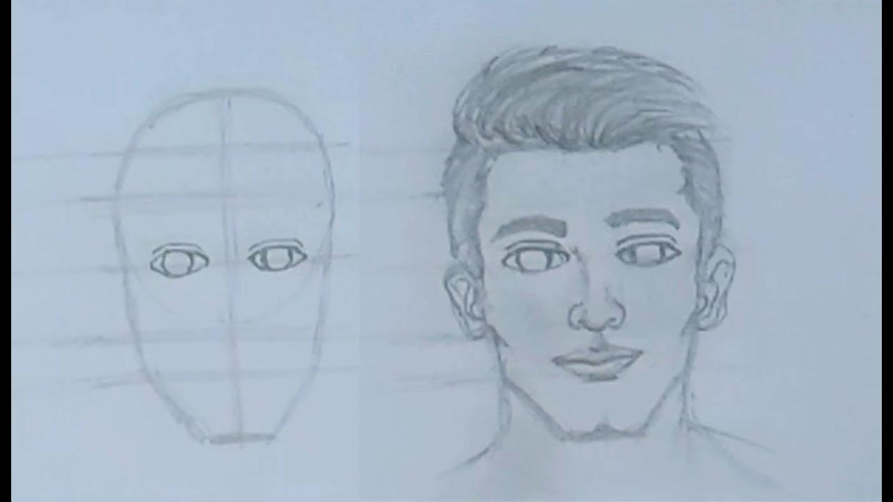 تعليم رسم الوجه خطوات لرسم الوجه للمبتدئين صبايا كيوت