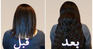 صورة خلطات لتكثيف الشعر , وصفات طبيعيه لزياده كثافه الشعر