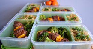 صورة غذاء كمال الاجسام، وجبات تساعد على نمو الكتله العضليه