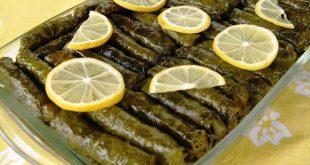 صورة ورق عنب بالفرن, اشهر المقبلات المصرية واللبنانية