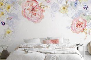 صورة ورق جدران مشجر، بالصور اجمل تصميمات وديكورات ورق الجدران المشجر