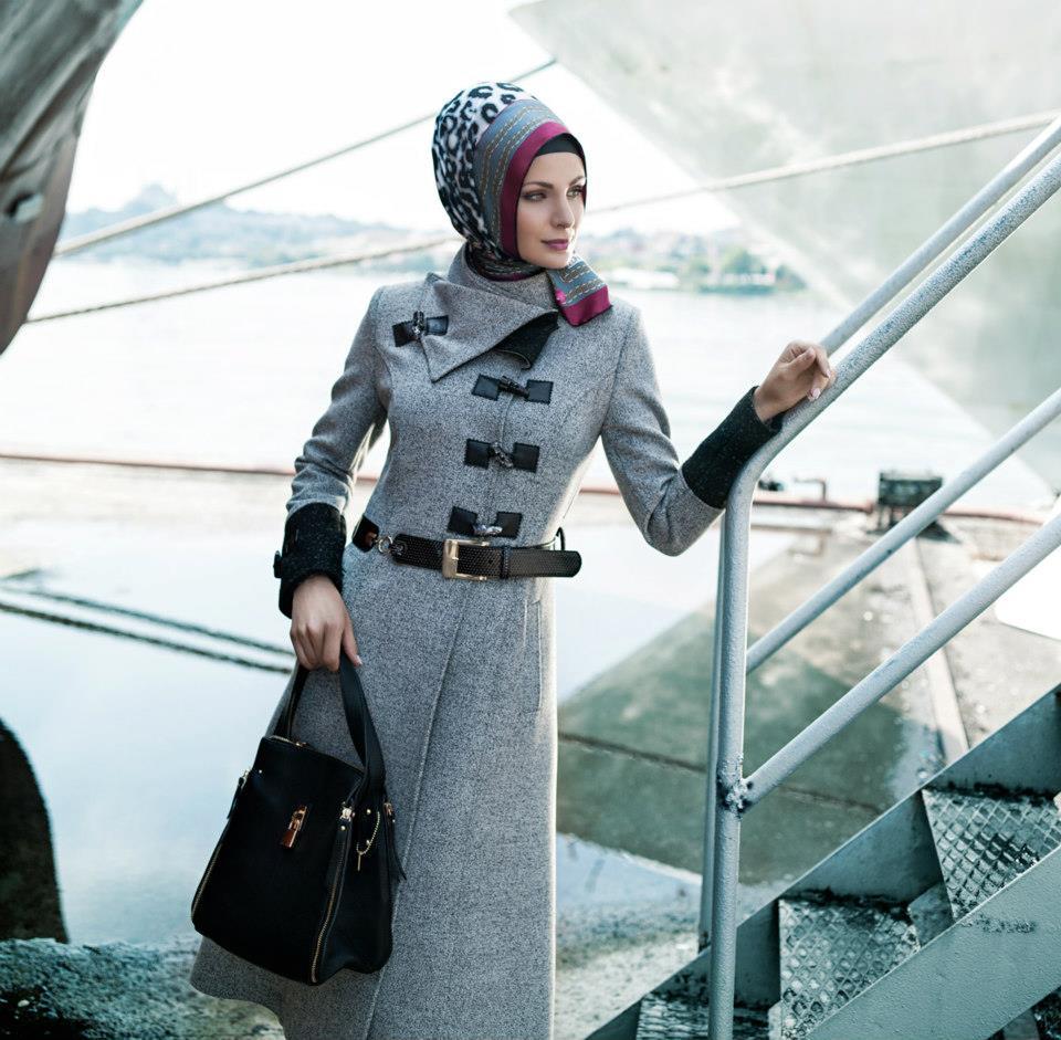 صورة جاكيتات شتوية للمحجبات جواكت شتوى للمحجبات, اجعلی حجابک اشیک فی الشتاء