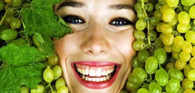 صورة تعرف علي انواع العنب واهميته , فوائد العنب للبشرة