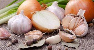 صورة فوائد الثوم والبصل, اهمية البصل والثوم للجسم والبشرة والشعر