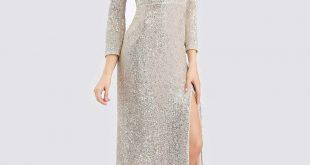 اكثر الفساتين اختيارا , فستان سهرة طويل
