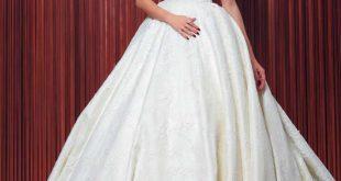 اروع فساتين تركية لليلة العمر , فساتين زفاف تركى