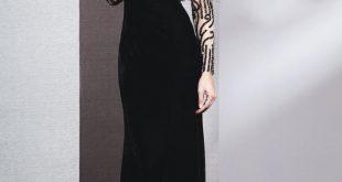 صورة ارق الفساتين للفتيات , فساتين كم طويل ناعمه
