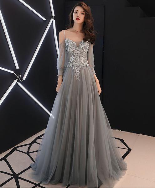 صورة تألقى بأجمل الفساتين , فساتين سهرة فخمة طويلة