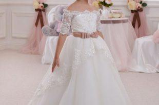 صورة فساتين زفاف اطفال , ملائكة صغيرة
