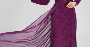 صورة تعرفي علي انظمة الفساتين الطويلة , موديلات فساتين طويله