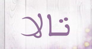صورة سمي بنتك اسم يدل علي الجمال , معنى اسم تالا