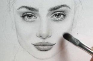 صورة احتراف الرسم من الالف الي الياء , تعلم رسم الوجه