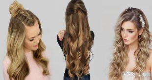 استوحي طريقه تسريحه شعرك هذا الصيف 2020 من الفنانين  ،اجمل تسريحات الشعر الطويل