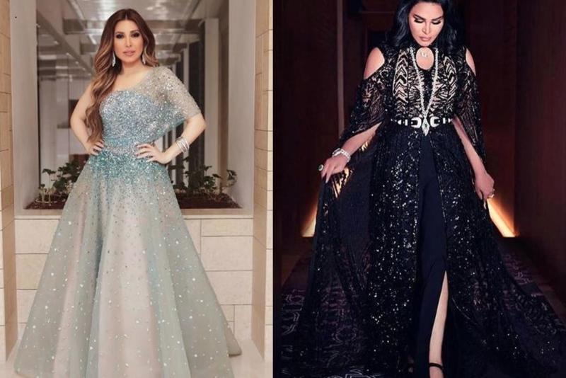 صورة فستان خطوبة محجبات 5646