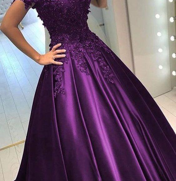 صورة فستان خطوبة محجبات 5793 1